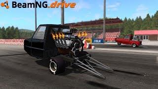 BeamNG.drive - PIGEON DRAG RACE