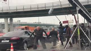 Кадры со съемок нового фильма Дмитрия Нагиева