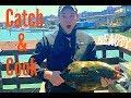 LEGAL Halibut! San Francisco California Fishing - Catch & Cook
