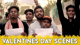 Valentines Day Scenes | Hyderabadi Comedy | Warangal Diaries
