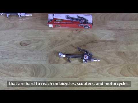 Prestaflator Mini Air Compressor Presta Head Bicycle Inflator