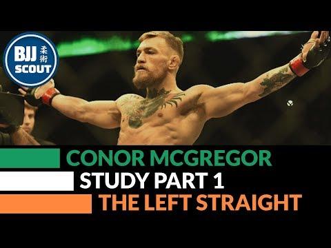 BJJ Scout: Conor Mcgregor Study Part 1: Left Hand Overview