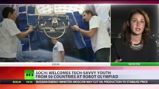 World Robot Olympiad underway in Sochi