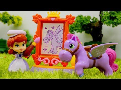Prenses Sofia Oyunu At Minimus Cizimi Boyama Oyunu Oyna Evcilik