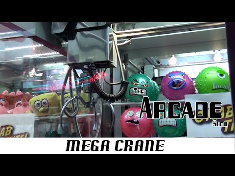 The Arcade Show EP3 - Elaut Mega Claw Crane Quick Repair! - YouTube