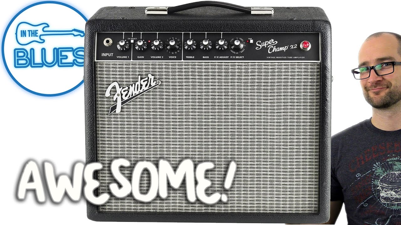 Fender Super Champ X2 Guitar Amplifier Youtube Is It Ok To Put A Solid State Pedal Through Valve Amp Geekchat