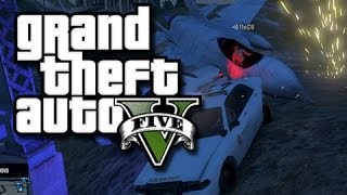 GTA 5 Online Skits - Cops and Robbers! #2 The Wiener Thief! (GTA 5 Funny Skit with Bloopers!)