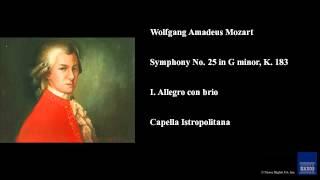 Wolfgang Amadeus Mozart, Symphony No. 25 in G minor, K. 183, I. Allegro con brio