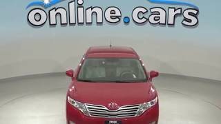 A98964ET Used 2012 Toyota Venza Red Test Drive, Review, For Sale