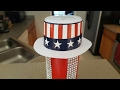DIY 4TH OF JULY CENTERPIECE | PRINGLES CAN UPCYCLE