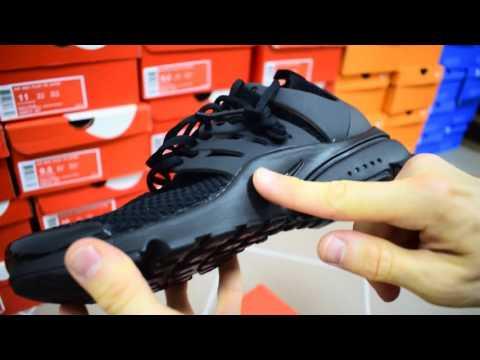 Nike Air Presto Ultra Flyknit black обзоркроссовки мужские найк аир престо черные
