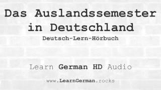 Infovideo: Das Auslandssemester in Deutschland