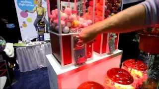 Vend Master Gumballs Machines Rack With Bill Acceptor