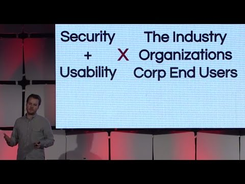 USENIX Enigma 2016 - Security and Usability from the Frontli