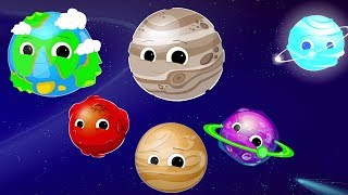 Gambar cover Planet lagu | nurseri sajak | belajar sistem solar | Planet Song