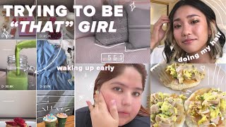 We Tried To Be 'That Girl' For A Week
