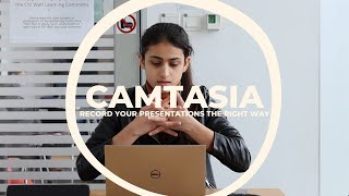 Camtasia - Record your presentation the right way