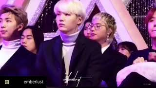 SUGA ( BTS) cute Moments BLACKPINK