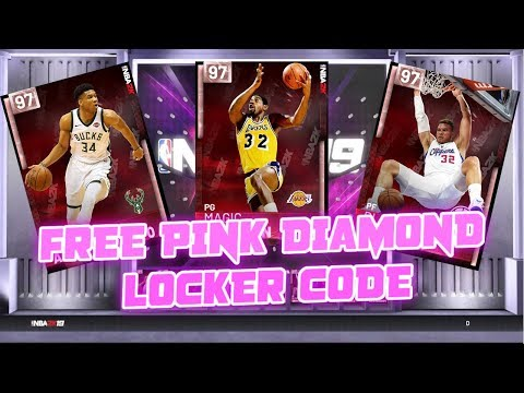 *FREE* PINK DIAMOND LOCKER CODE WHO WILL WE GET??? NBA 2K19 MYTEAM 20th ANNIVERSARY PINK DIAMOND thumbnail