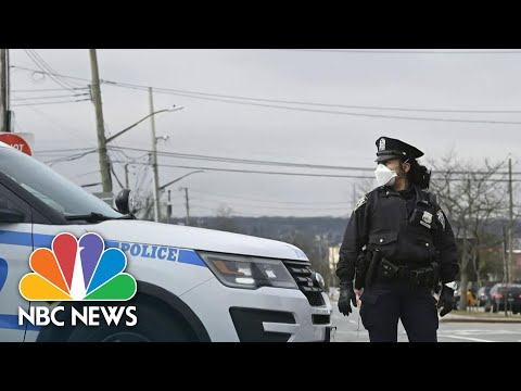 First responders at risk in coronavirus pandemic: 300 NYPD officers test positive | NBC Nightly News