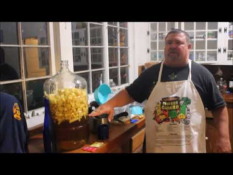 How to make Apple Wine at Rockos