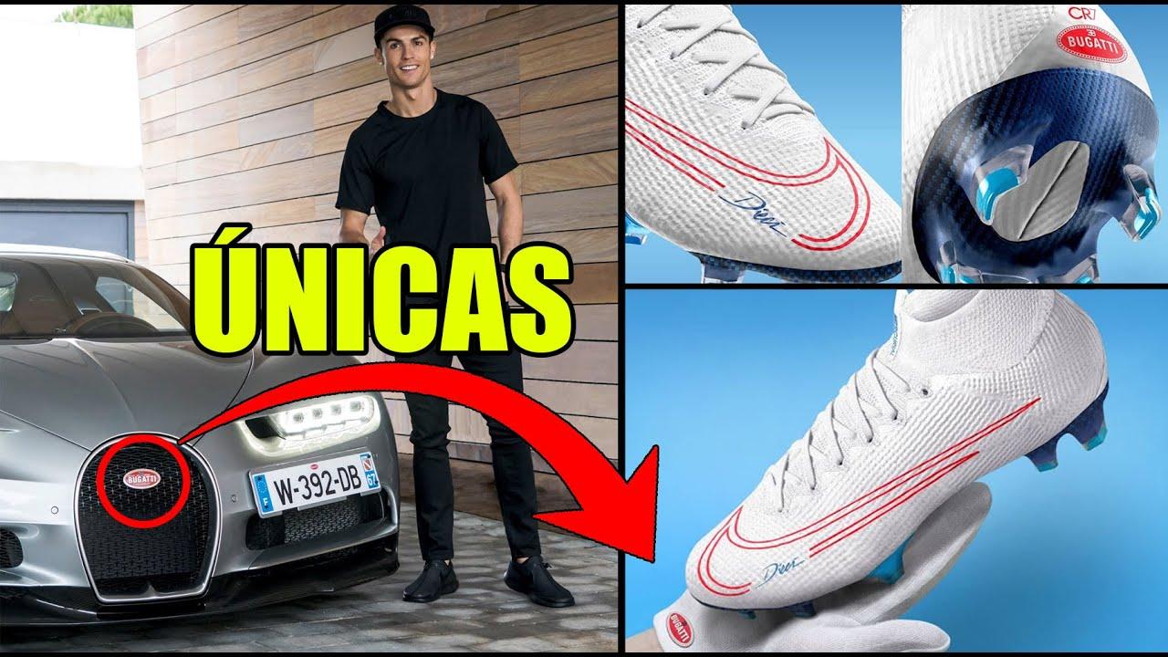 Circulo barbilla fondo de pantalla  Nuevas Botas para CR7 Nike Mercurial Superfly 7 BUGATTI - Tech Football  Actualidad - YouTube