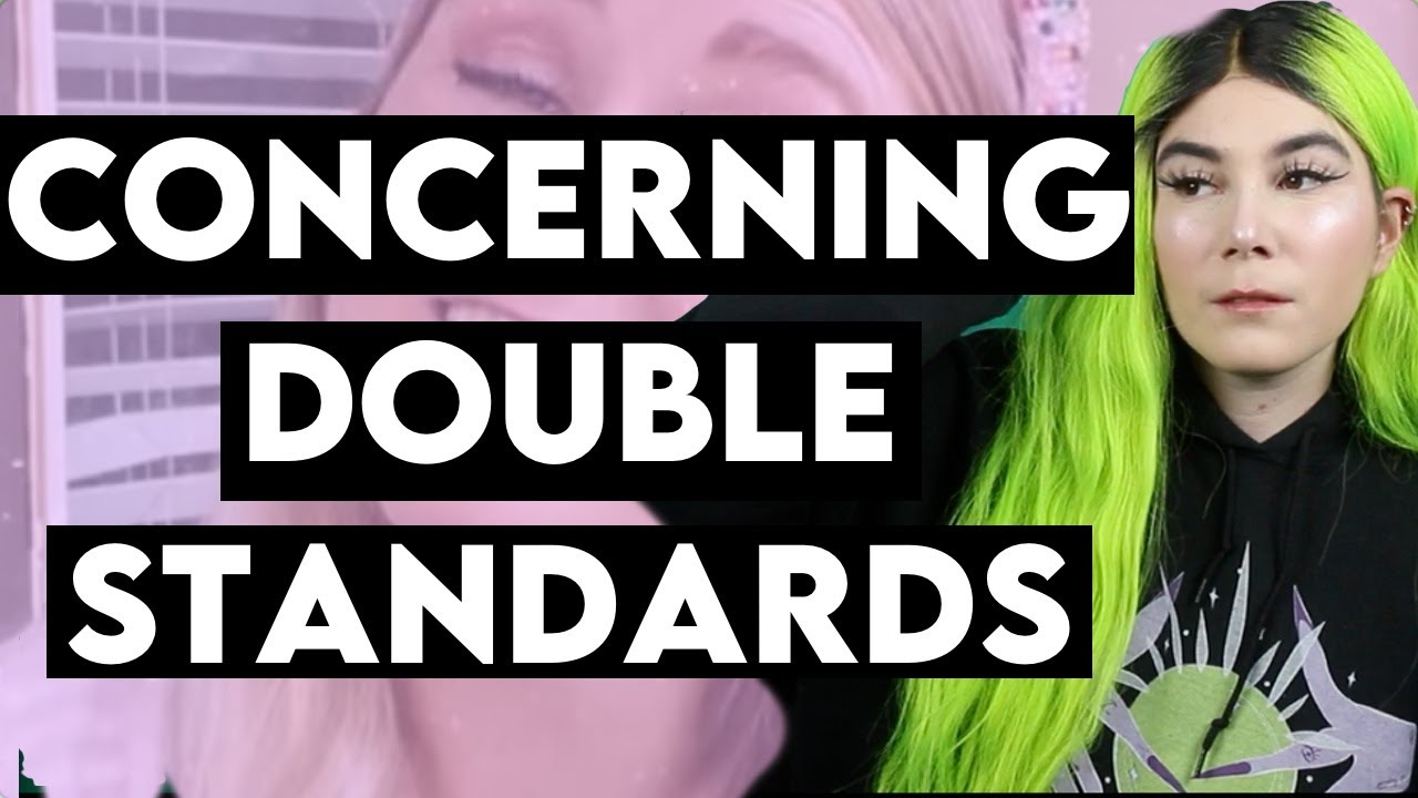The woman's double standard
