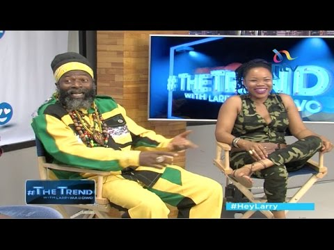 Queen Ifrica and Capelton aka King Shango reconnect with their royal African roots -  #theTrend