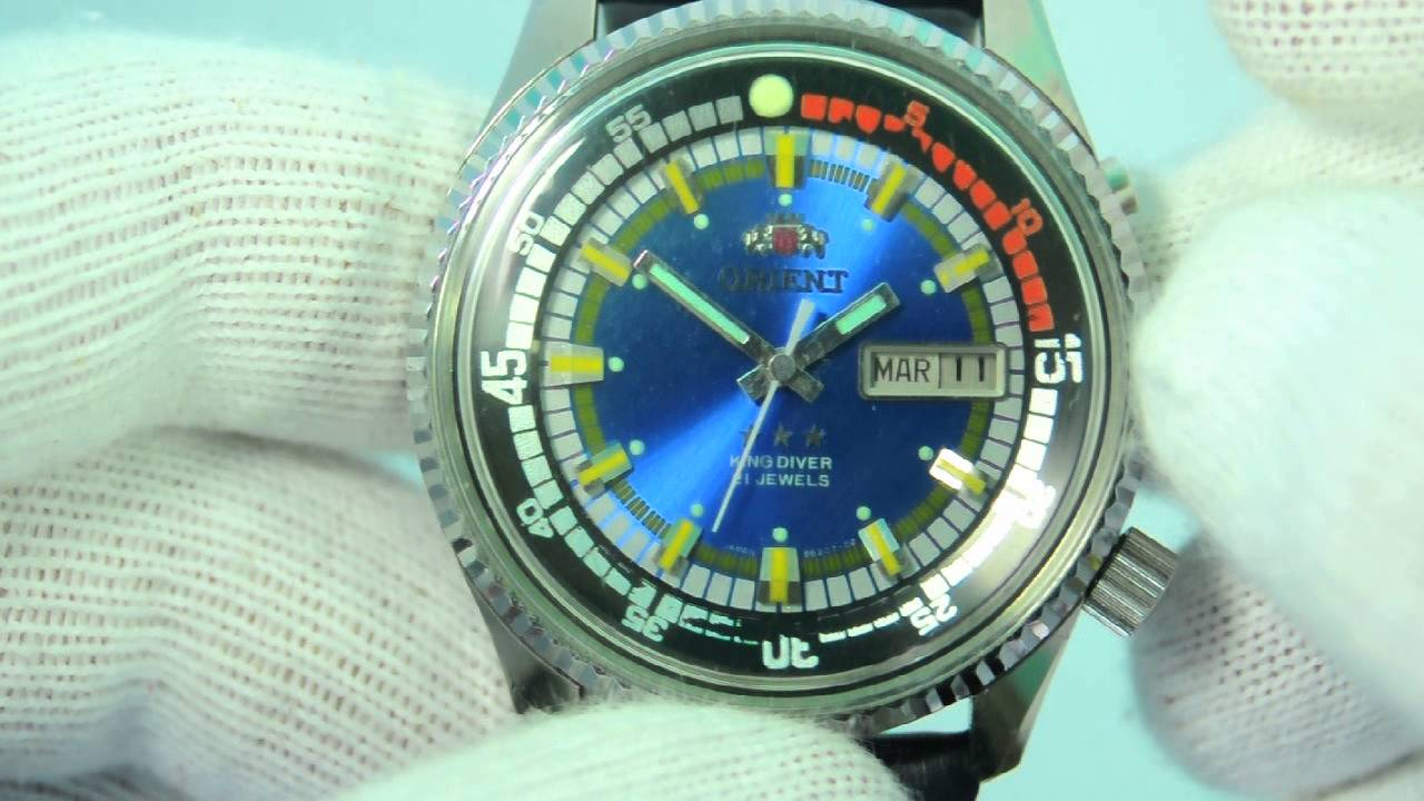 a568f5f61db Orient King Diver - YouTube