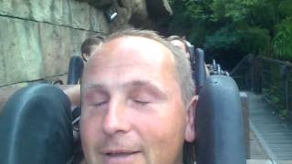 Горка Индиана Джонс Диснейленд Париж(Disneyland Paris - Indiana Jones et le temple du Peril Reviews., 2012-08-17T09:29:11.000Z)