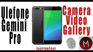 Ulefone Gemini Pro: Photo, Video, Camera App