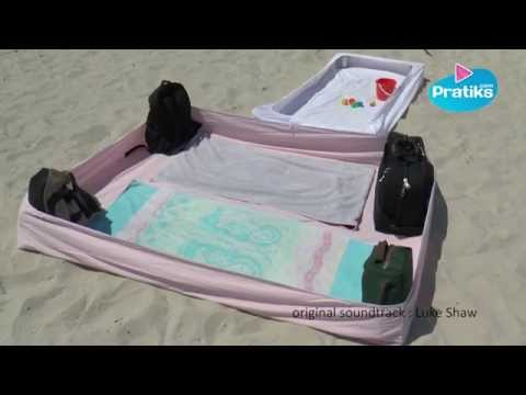 How to protect your beach towel from the sand - Do it yourse