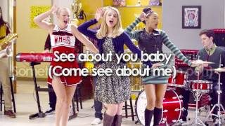 Glee - Come See About Me (Lyrics)