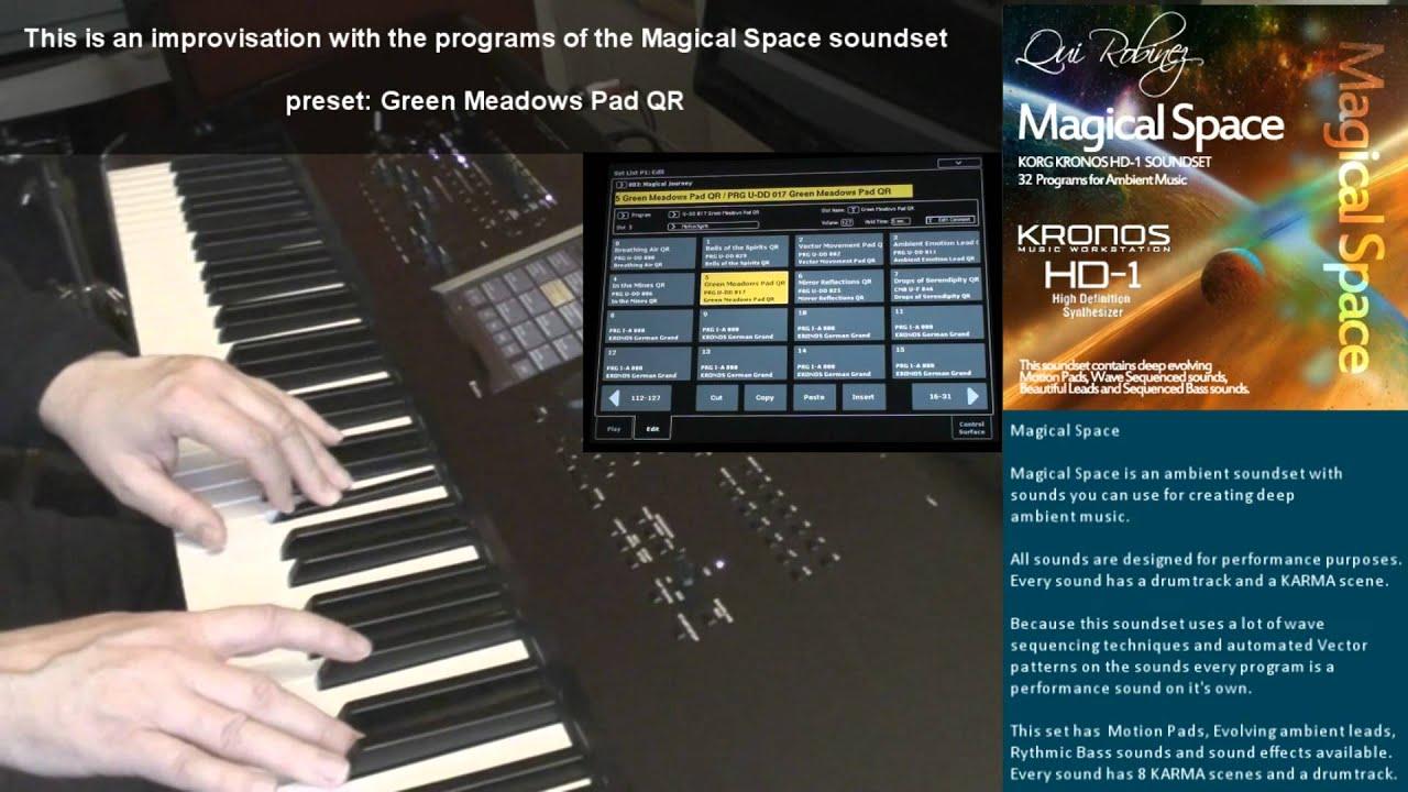 Korg Kronos Sound Set: Magical Space (HD-1)