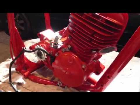 Cr250 1978 Restoration