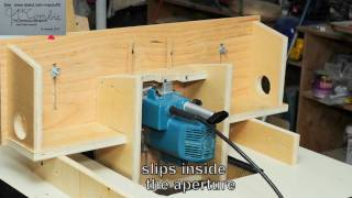 How To Horizontal Router -4 In One Operations.wmv