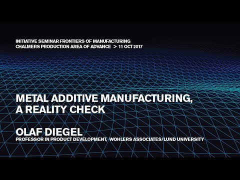 Metal Additive Manufacturing, a Reality Check