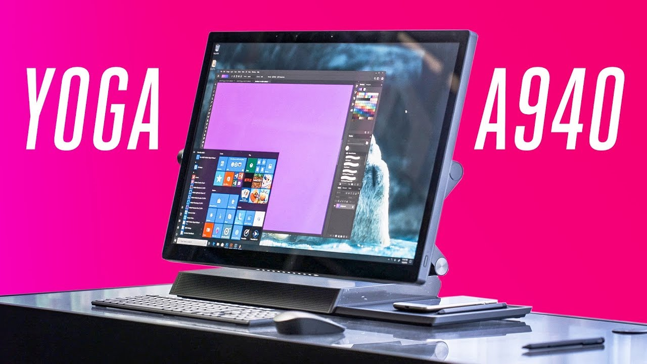 The Lenovo Yoga A940 is a Surface Studio competitor