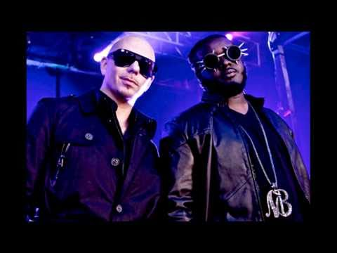 Pitbull - Hey Baby (Drop It To The Floor) ft. T-Pain, Busta Rhymes, Ludacris & Akon (No'Side Remix)