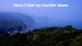 Glory Hallelujah Since I Laid My Burden Down (Instrumental) with lyrics