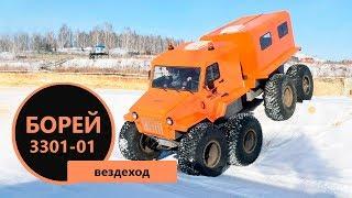 Новый взгляд на снегоболотоход Борей 3301-01