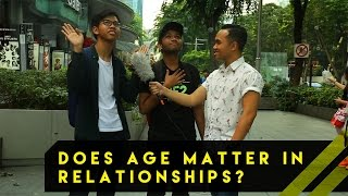 Does Age Matter In Relationships? | Word On The Street