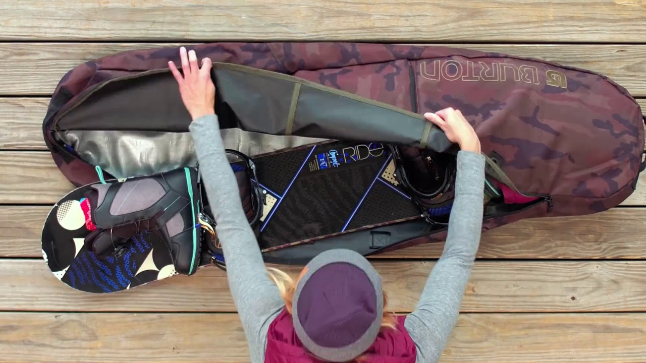 How To Pack Your Snowboarding Bag