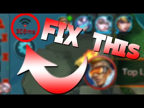 Mobile Legends How To Fix/Avoid Lag!
