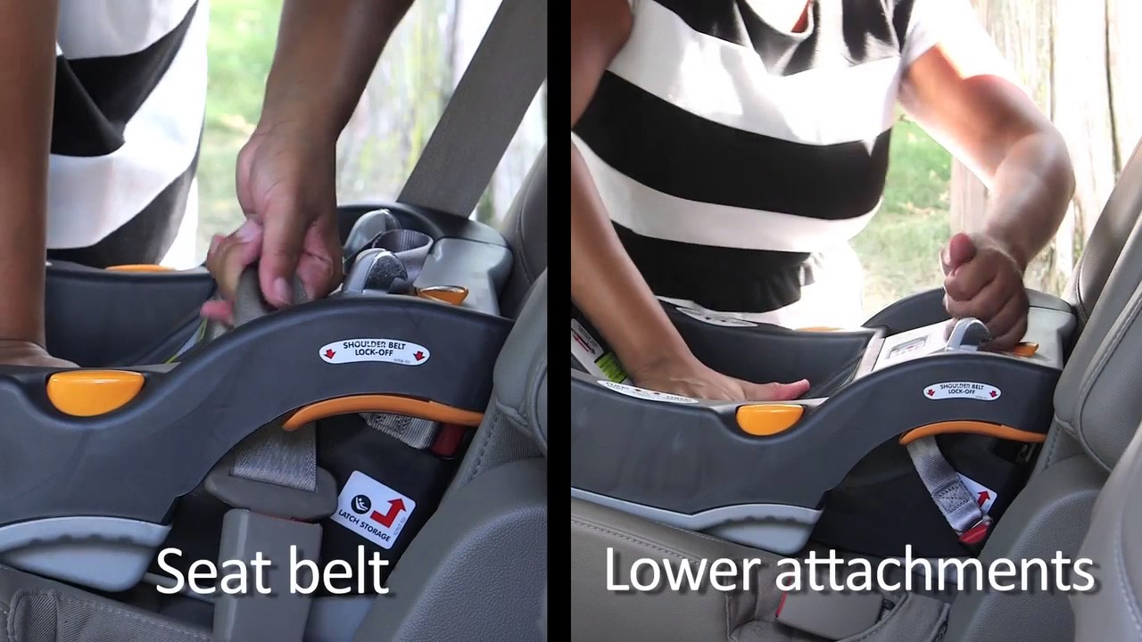 How To Take The Inch Test With A Rear Facing Car Seat