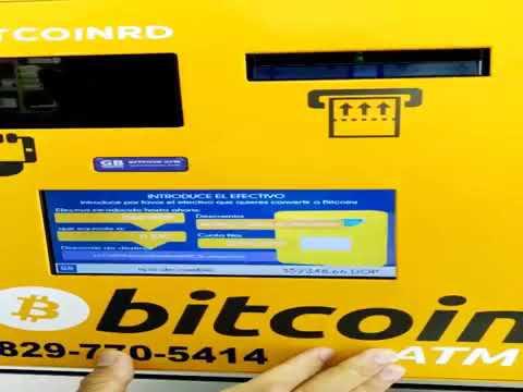 Cajero De BitCoin En Republica Dominicana Comprando Bitcoin En RD