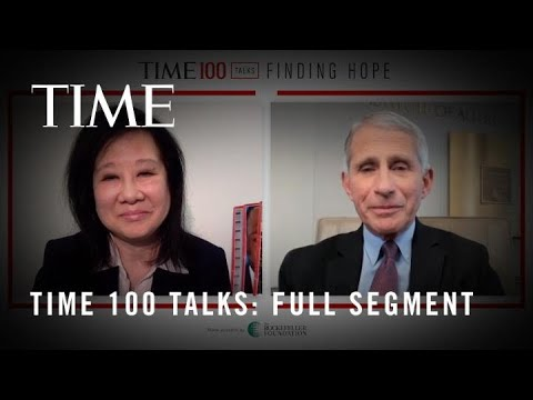 TIME100 Talks:  Alice Park Interviews Dr. Fauci About COVID-19 Testing I TIME