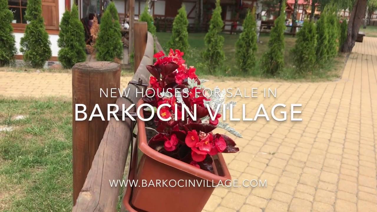 Barkocin Village, Poland - new houses