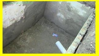 Выгребная яма.(Делаем ремонт. Решили построить выгребную яму из уже готовой. Все что нужно было это поправить и накрыть..., 2015-05-29T20:22:33.000Z)