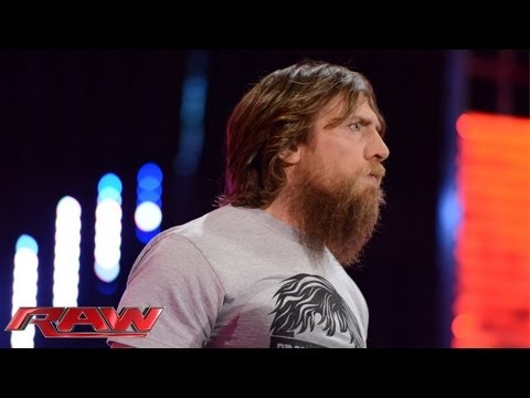Daniel Bryan refuses to give up his WWE Title opportunity at Night of Champions: Raw, Sept. 2, 2013